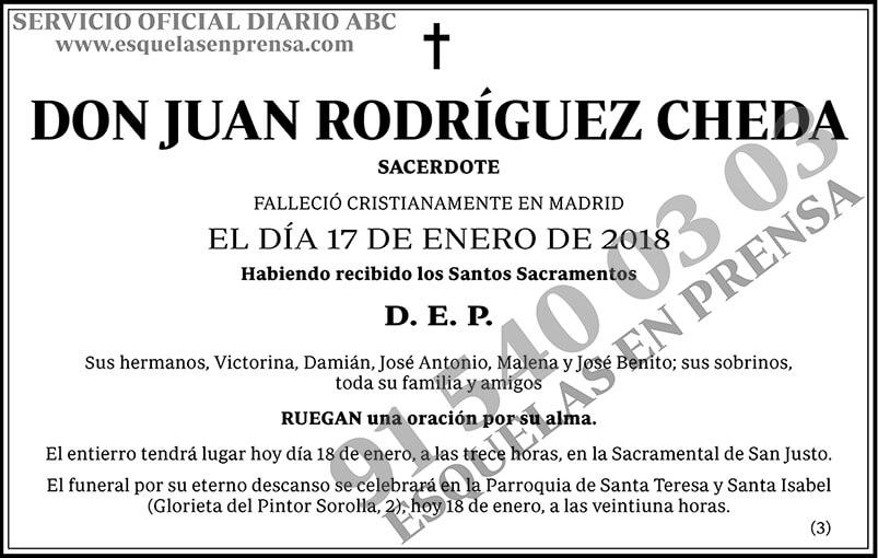 Juan Rodríguez Cheda